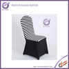 k6921-3 Factory Price banquet Custom China made wholesale cheap Stripe banquet chair cover
