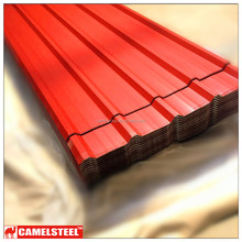 color coated corrugated sheet metal price