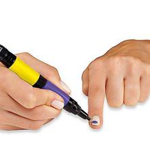 AS SEEN ON TV 2 in 1 Nail Art Pens Magic Nail Polish