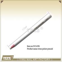 Nail Art Rhinestones white color Gems Picking Tools Pencil Pen hot fix rhinestone Pick Up Pen