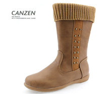2015 high quality kids long boots for girls