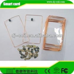 125KHz/13.56MHZ radio frequency coil rfid copper and transponder coil