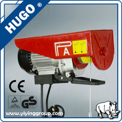 Alibaba China supplier for 0.1T to 1T mini hoist