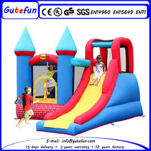 Lounge inflatable spiderman bounce slide