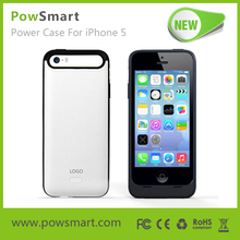 Power case 2000mah for iphone 5 5S battery charger case