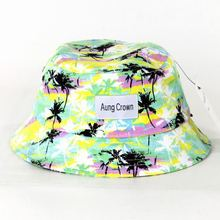 outdoor sport bucket hats/cotton printing bucket hat
