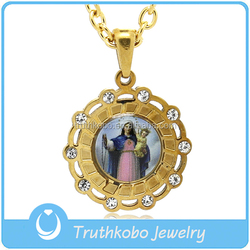 classical necklace 2016 trending sell products virgin Mary state jewelry making