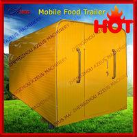 Mobile house type food kiosk for sale