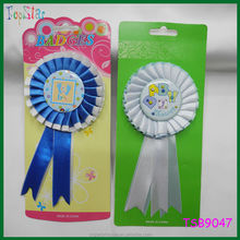 2015 Couple Stuff Ribbon Badge For Kids Birthday Party Supplies