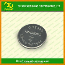 cr2025 3v lithium button dry cell battery 150mah