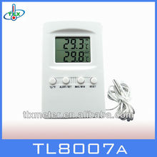 accurate thermometer indoor outdoor temperature display with alarm function