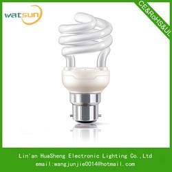 T2 half spiral compact fluorescent light bulb weight