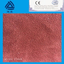 1.2 mm one side with grain lining fabric wholesale