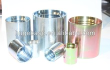 swage hose fittings with hose Ferrule(SAE 100 RT)