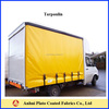pvc tarpaulin used for truck cover and side curtain etc