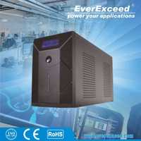 EverExceed 900W uninterruptible power supply apollo ups with ISO/ CE/ RoHS Certificate for Small service center