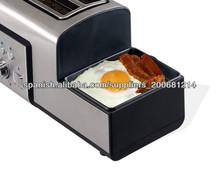 Nuevo!3 en 1 multifuncional tostadora y máquina de huevo