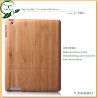 for ipad air case, bamboo wood case for ipad air with high quality