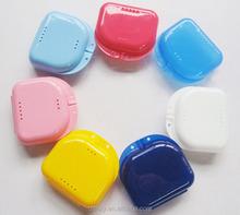 Dental box denture case disposible for teeth