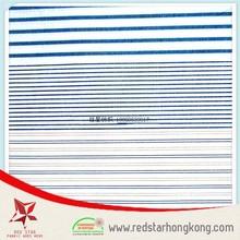 High density wrinkle free stripe fabric wholesale