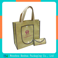 Customizable eco recycle foldable non woven bag