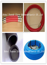 RUBBER. Braided Rubber Steam Hose. STW type. Made In China. (high temperature flexible rubber hose)