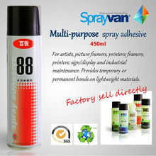SPRAYVAN 88 spray adhesive / fabric glue / floor glue