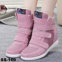 SS-169 cheap sneakers fashion wedges sneakers women causal shoes new arrivals 2016