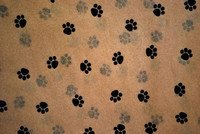 Brown kraft printed wrapping tissue paper