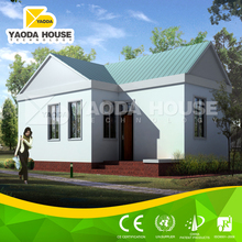 Chinese high quality low cost prefabricated house and wall panels