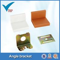 Plastic cover metal reinforced corner brackets