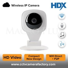 Motion Detection & Nightvision Indoor Home IP 1MP 2 Way Audio Camera with wifi