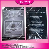 Hot NewProducts For 2014 , 5g XXX platinum Mylar Foil Herbal Incense Bag