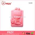 bebé de silicona para moldes de jabón