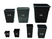 Wholesale Hydroponic Nursery Plastic Plant Bag french style garden plant pot