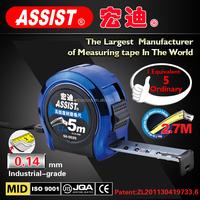 Economic tape measure for comfortable grip Co-molded Measure Tape