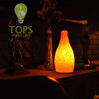 12V 1.5W SMD LED Battery 3000MAH Rechargeable Rechargeable Candle Led,Hotel table lamp,battery powered led table lamps