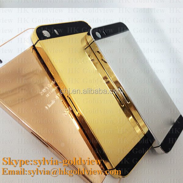 Iphone 5s Gold Back Plate Iphone 5s Back Plate