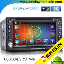 "Erisin ES9610A 6.2"" 2 Din Touch Screen Car DVD Player with GPS"