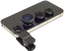 Good Price Professional PC ( Macro ,Wide angle) Universal Tablet 3 in 1 len Clip For Mobile Phone Lens