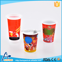 Latest design Aviopack eco friendly disposable plastic cookie pp cup with sauce plate