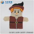 Felpa juguete marionetas de mano, personalizado juguetes, CE / ASTM seguridad stardard