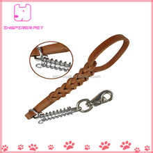 Leather Dog Leash for Strong Dogs