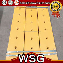 WSG 2015 new product high quality excavator bucket cutting edges spare parts cutting edges for excavator