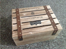 Custom 12 bottle wooden wine box