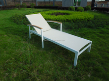 Hotel Swimming Pool Furniture Sun Loungers With Textlone Farbrc