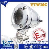 10w 2inch CE certificated motorbike led back light autobike led back light pure aluminum casing e-bike led rear lamp
