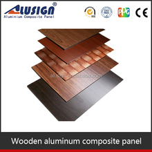 Alusign cheapest exterior wooden wall cladding material