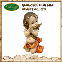 wholesale custom figurines angels from polyresin for home decoration