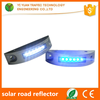 6 LED solar reflectorized road studs flashing reflector for traffic safety